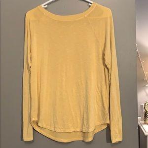 yellow long sleeved!